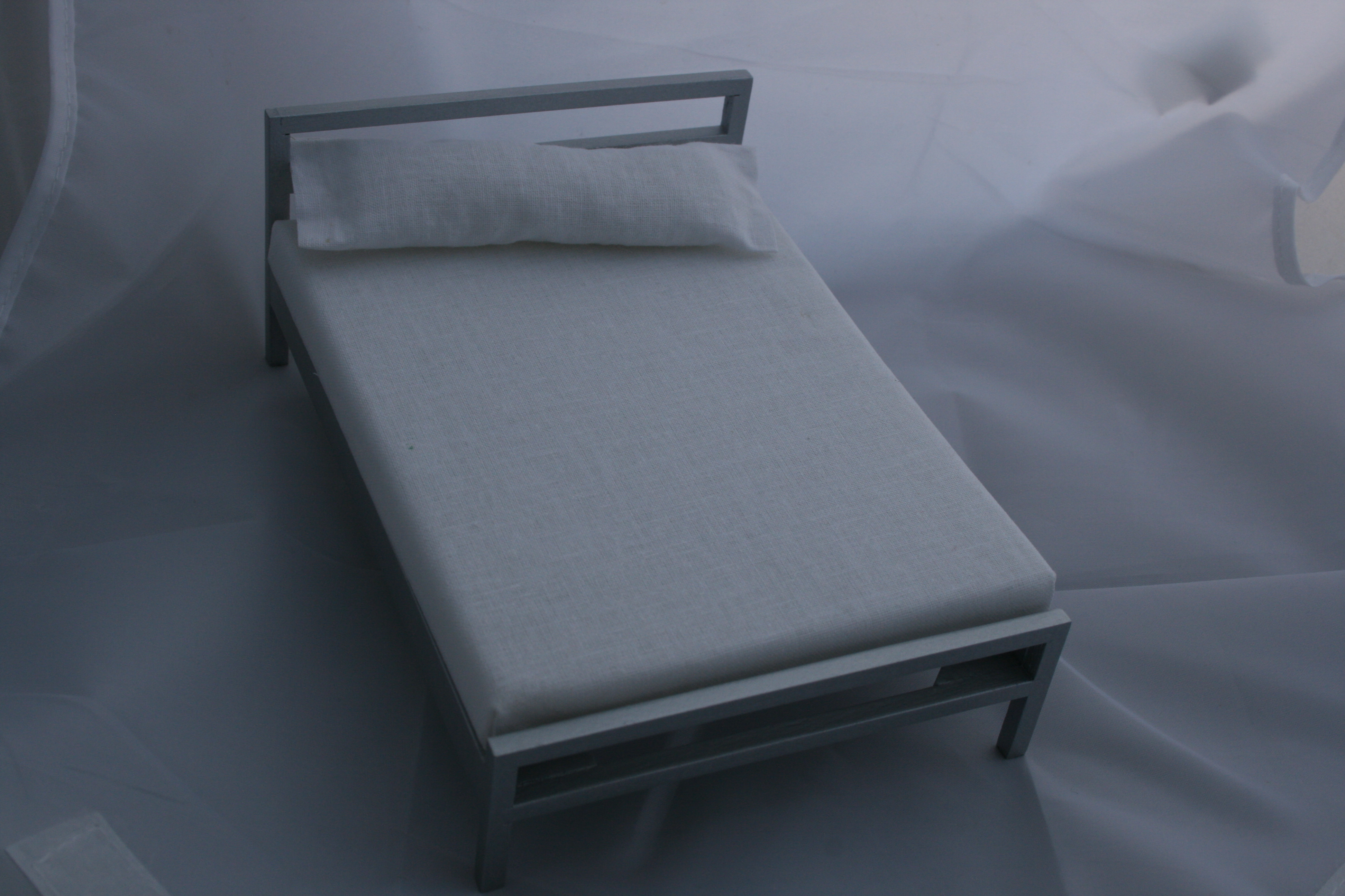 'Chrome' Double bed