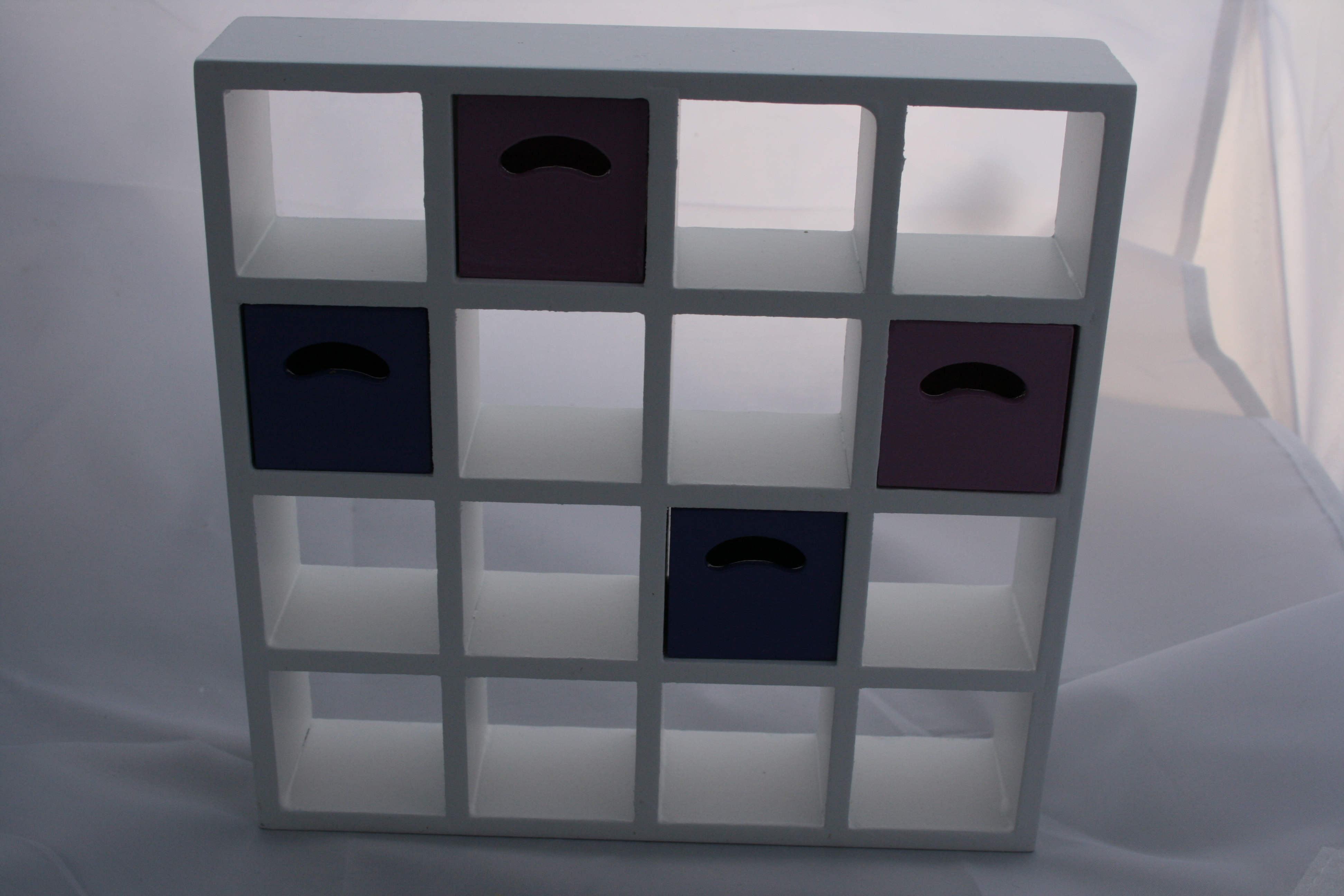 White Display Shelves