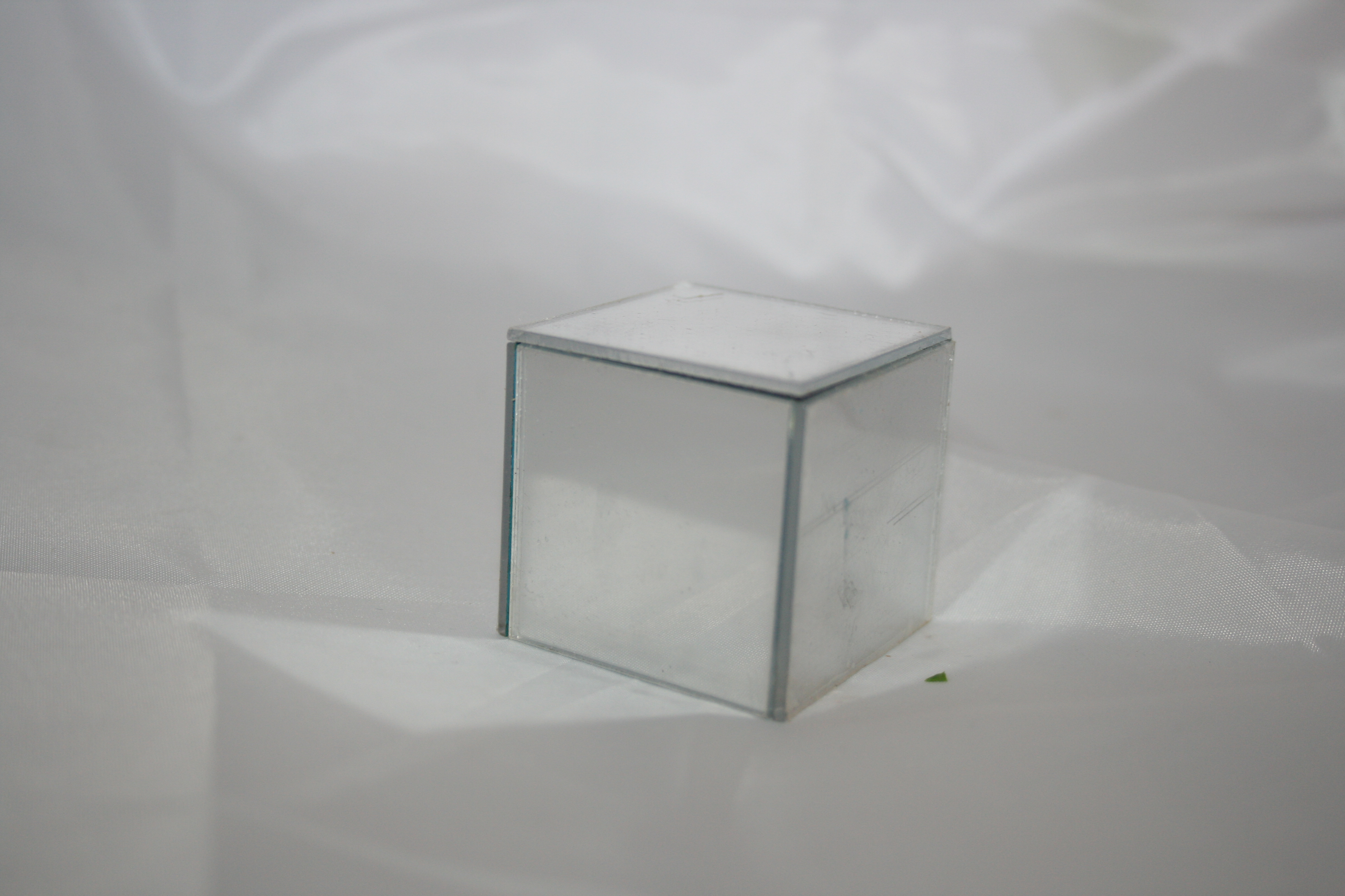 Mirror Cube Table