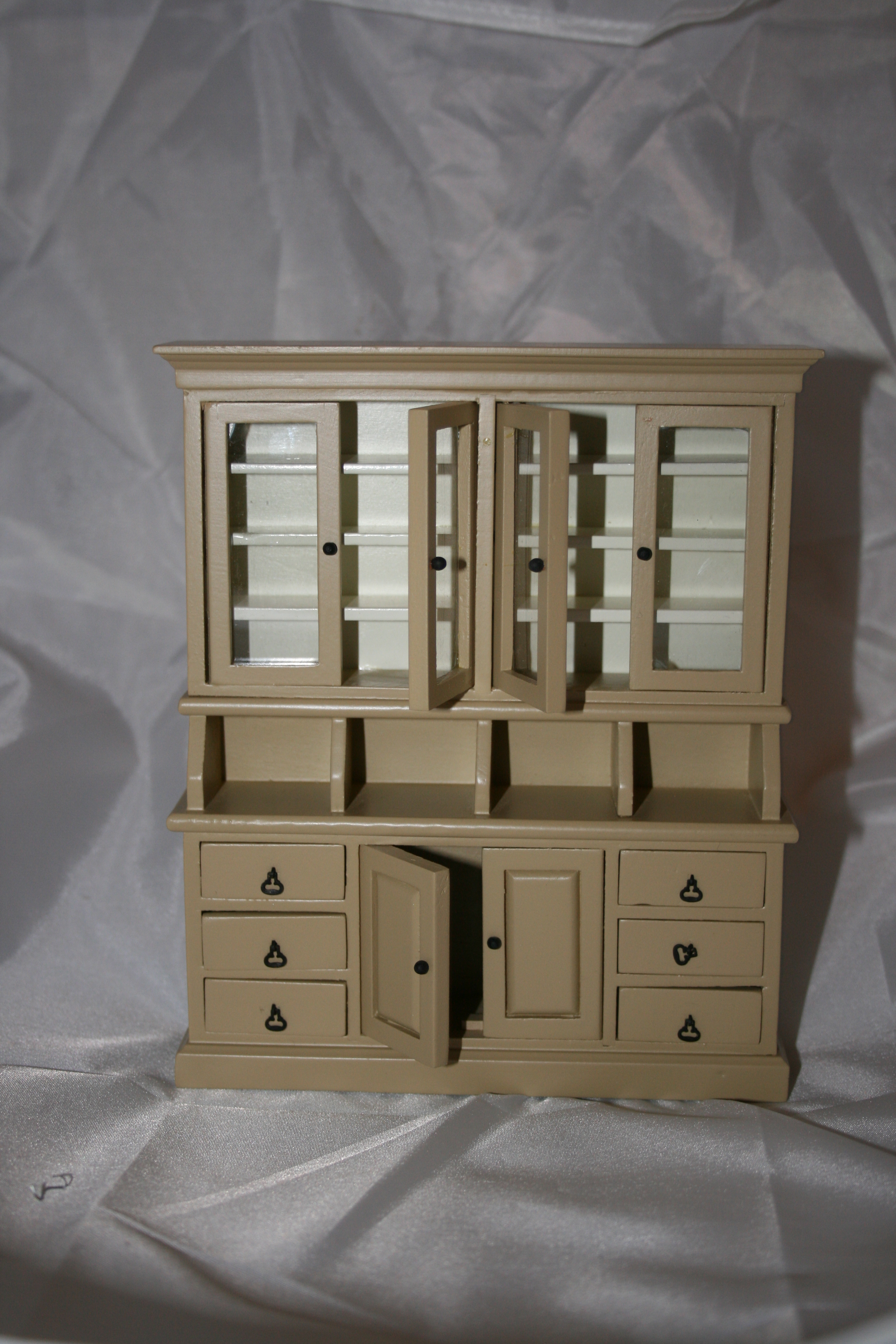Beige Kitchen Cabinet