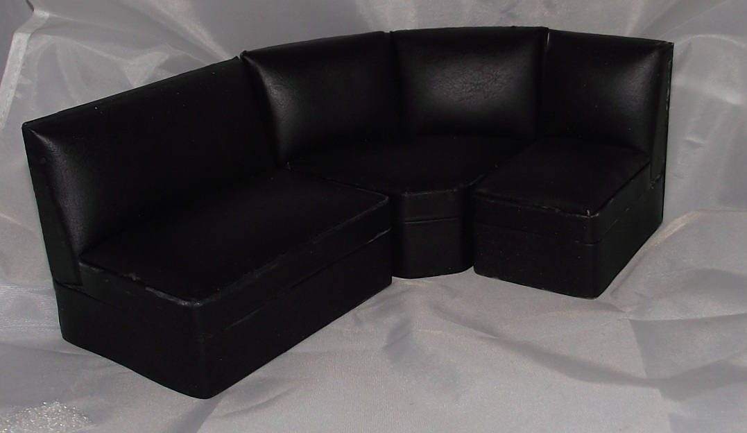 Black Corner Lounge Suite